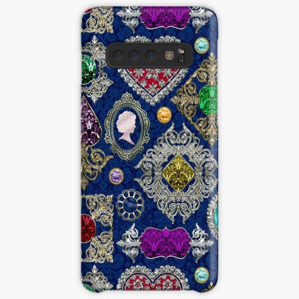 Gorgeous Victorian Jewelry Brooch Gemstone Collage Samsung Galaxy Snap Case