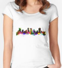 Fort Worth Texas USA Women's Fitted Scoop T-Shirt