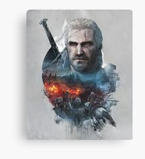 Geralt of Riv The Witcher Canvas Print