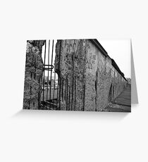 Berlin Wall 1 Greeting Card