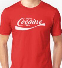 Enjoy Cocaine Slim Fit T-Shirt