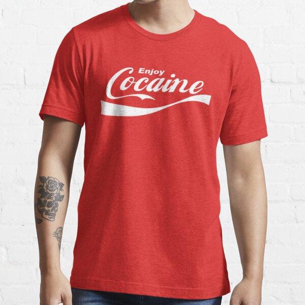 Disfruta de la cocaína Camiseta esencial