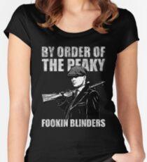 The Peaky fookin Blinders Women's Fitted Scoop T-Shirt