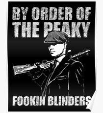 The Peaky fookin Blinders Poster