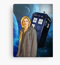 13th Doctor Tardis  Canvas Print