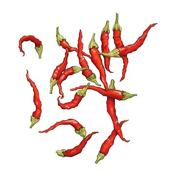 Red Hot Chillies by mrana