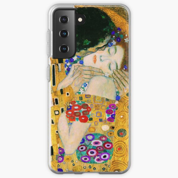 The Kiss by Gustav Klimt Samsung Galaxy Soft Case