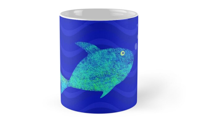 Pisces: Fish in Blue Water by Hopasholic