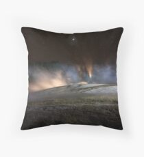 Geothermal Painted with Light Throw Pillow