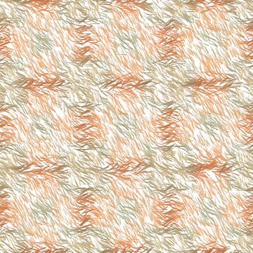 Beige, Tan and Pale Orange Marks on White Background  by deecdee