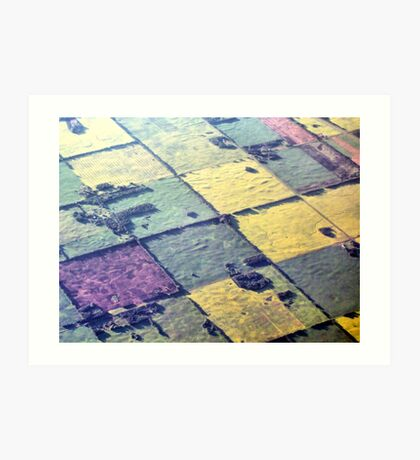 Like A Patchwork Quilt Art Print
