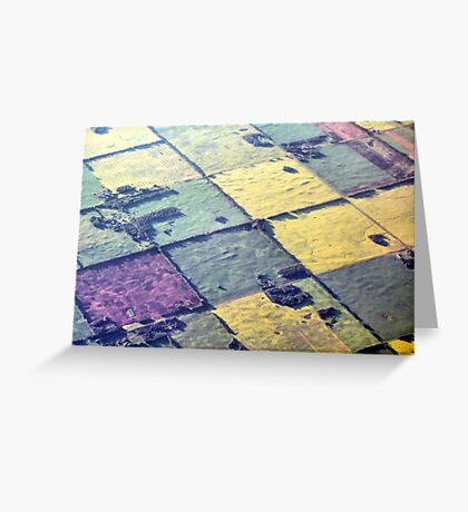 Like A Patchwork Quilt Greeting Card