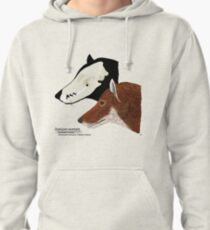 Falkland Island Wolf Pullover Hoodie