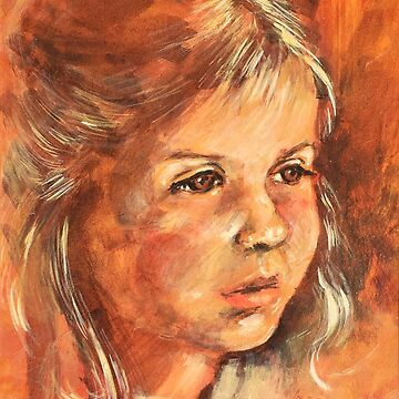 Portrait of a little Girl by rozmcq