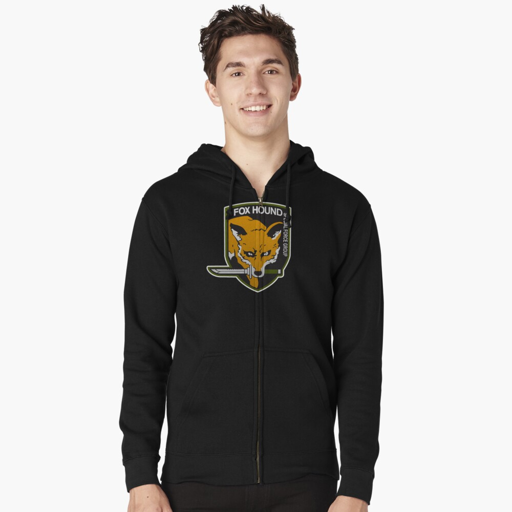 Fox Hound Special Force Group Zipped Hoodie