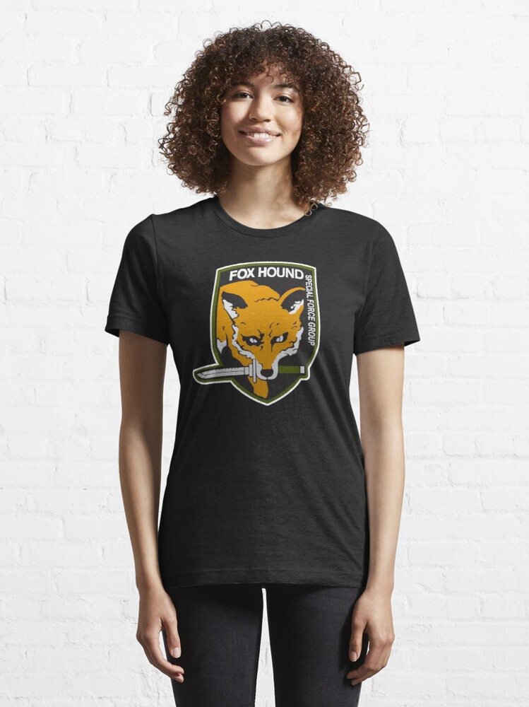 Alternate view of Fox Hound Special Force Group Essential T-Shirt