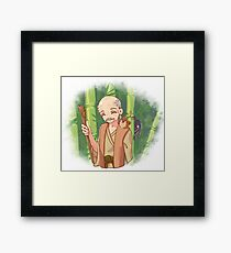 Tongue-cut Sparrow Framed Print