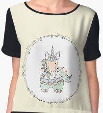 Gelati Unicorn Chiffon Top