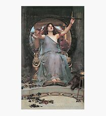 Vintage John William Waterhouse - Circe Offering The Cup To Odysseus 1891 Fine Art Photographic Print
