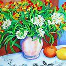 Citrus Still Life by marlene veronique holdsworth