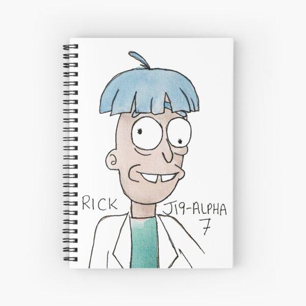 RICK J19-ALPHA7 Spiral Notebook