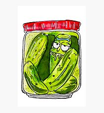 DILL PICKLED RICK  Photographic Print