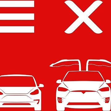 S3XY Tesla - Model S, Model 3, Model X, Model Y - Elon Musk by elonscloset