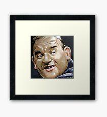 """""""Norman Stanley Fletcher"""" Framed Print"""