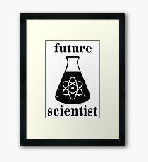 Future Scientist  Framed Print