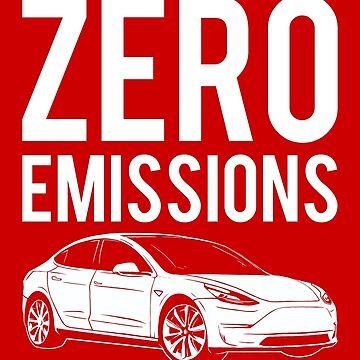 Zero Emissions Tesla - Model S, Model 3, Model X - Elon Musk by elonscloset