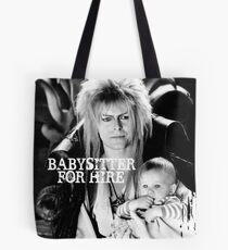 David Bowie - Jareth: Babysitter For Hire Tote Bag