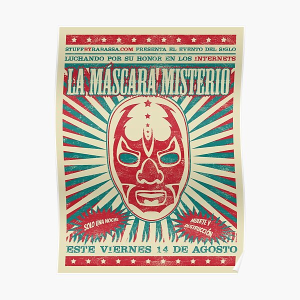 The Mysterious Mask Poster