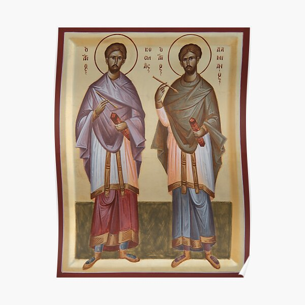 Sts Cosmas and Damian Poster