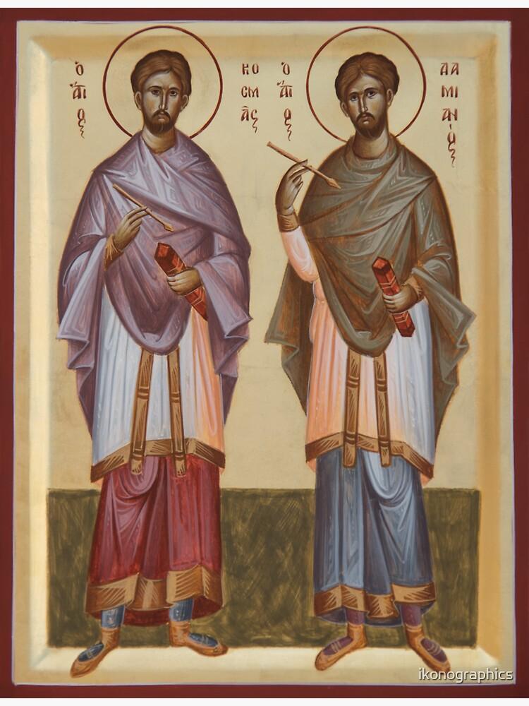 Sts Cosmas and Damian by ikonographics