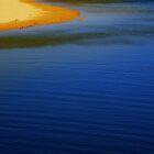 Lapis lazuli water by Of Land and Ocean - Samantha Goode