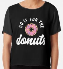 Do It For The Donuts Chiffon Top