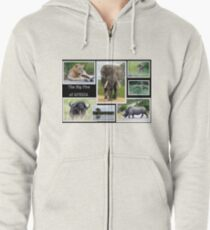 The famous *BIG FIVE* Zipped Hoodie