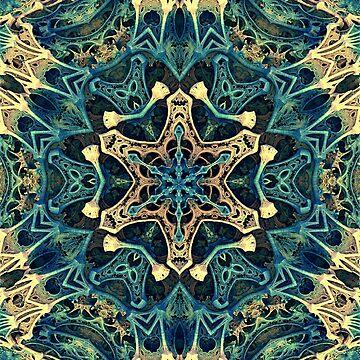 Mandala Fractal Star by Manafold