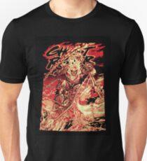 Camiseta unisex Ghost Rider fondo negro
