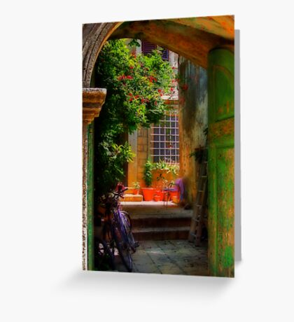 A Glimpse Greeting Card