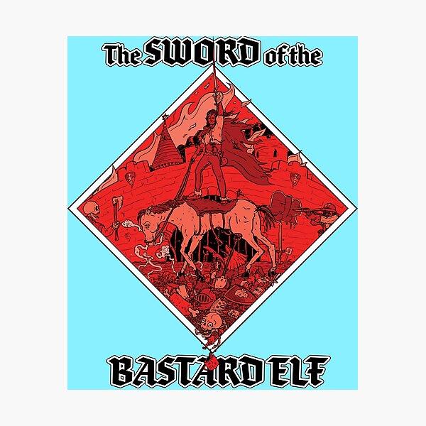 Sword of the Bastard Elf Photographic Print