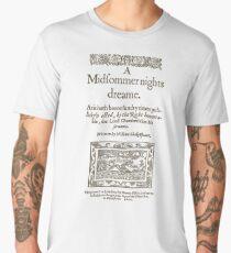 Shakespeare, A midsummer night's dream 1600 Men's Premium T-Shirt