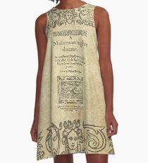 Shakespeare, A midsummer night's dream 1600 A-Line Dress