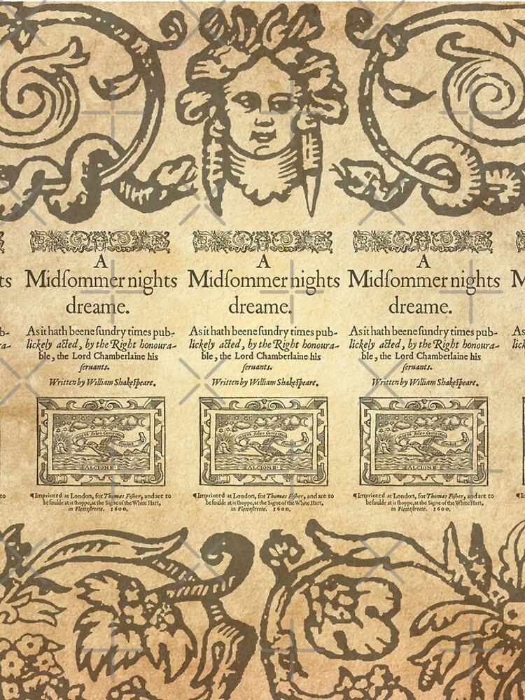 Shakespeare, A midsummer night's dream 1600 de bibliotee