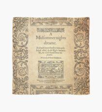 Shakespeare, A midsummer night's dream 1600 Scarf