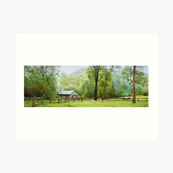 Ritches Hut, Howqua Hills, Victoria, Australia Art Print