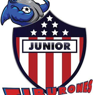 Junior de Barranquilla  by mqdesigns13