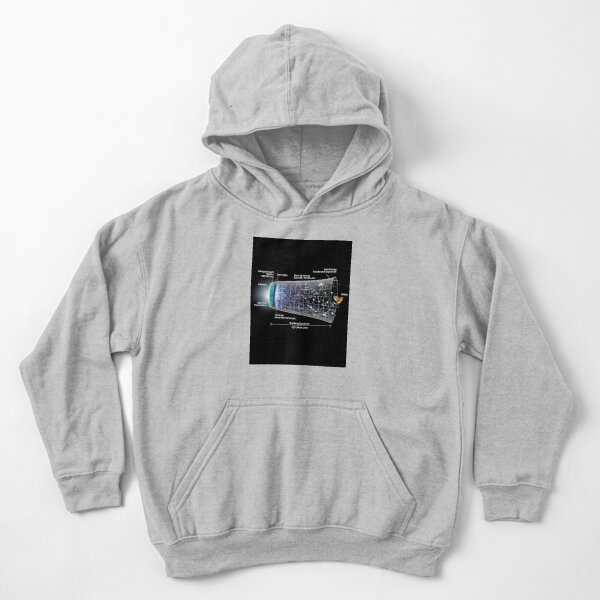 Shape of the universe Kids Pullover Hoodie