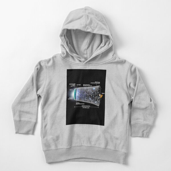 Shape of the universe Toddler Pullover Hoodie