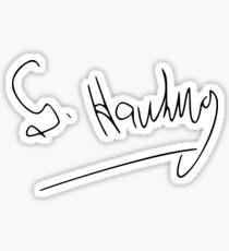 Rip Stephen Hawking Sticker